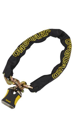 Onguard Beast 8017 Kette mit Bügelschloss 110 cm schwarz/gelb